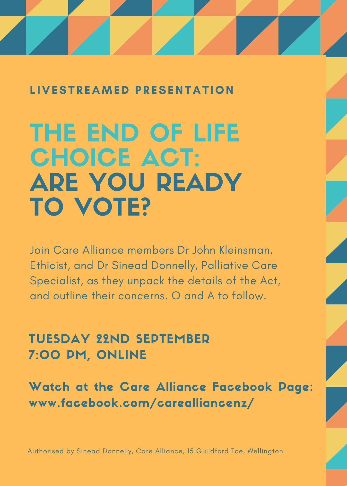 Care Alliance Livestream